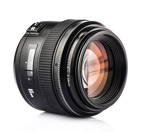 Lente Yongnuo YN85 85mm f/1.8 para Canon