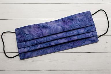 Blue Violet Batik
