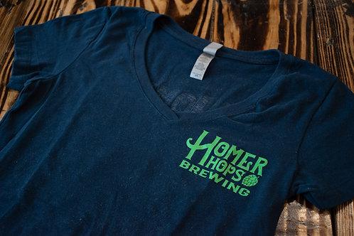Women's Homer Hops Navy T-Shirt
