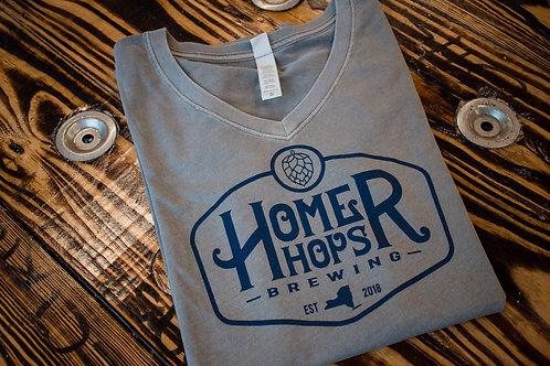Women's Grey Homer Hops T-Shirt