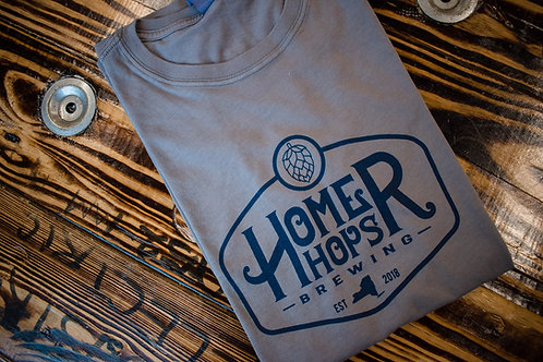 Men's Grey Homer Hops T-Shirt