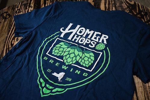 Men's Navy Homer Hops T-Shirt