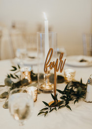 Greenery Tables