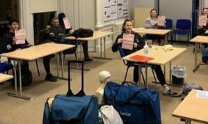 Deaf School = Lifeguards