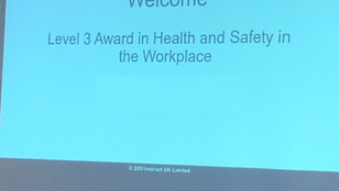 New Courses coming soon: Health and Safety in the Workplace