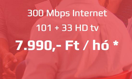 115 +34 HD + 300 Mbps