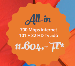 ALL-IN 115+34 HD + 700 Mbps
