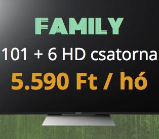 FAMILY TV - 115 + 34 HD