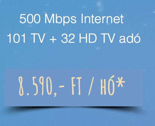 115+34HD + 500 Mbps