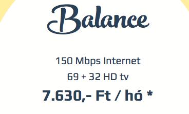BALANCE - 67+27HD + 150 Mbps