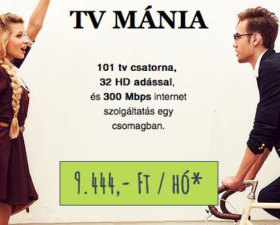 TV MÁNIA 115+34 HD + 300 Mbps