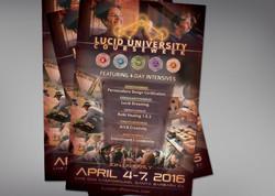 Lucid University Poster