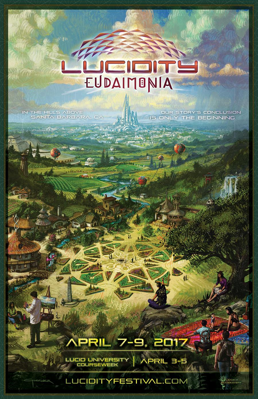 Lucidity Eudaimonia Poster