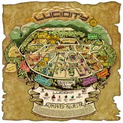 Lucidity 2015 Vinyl Map