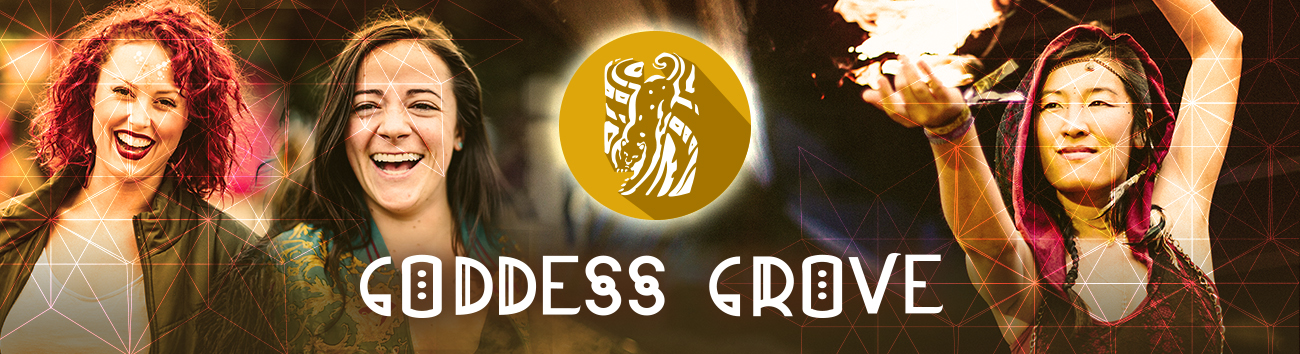 Goddess Grove Village Header