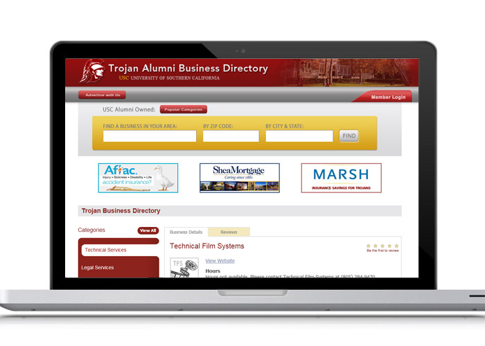 USC Alumni Business Directory