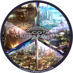 Crossroads Sticker