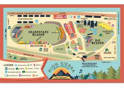 High Sierra 2015-16 Map