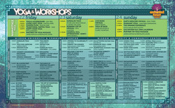 EFG16 Workshop Schedule