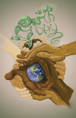 Earth Day - Digital Painting