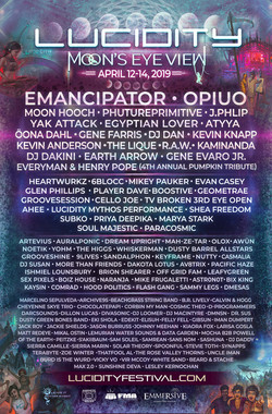 Lucidity 2019 Lineup Poster