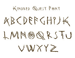 Kindred Quest Font