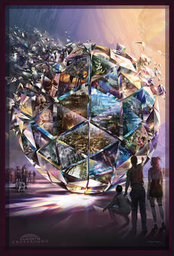 Lucidity Crossroads Tapestry
