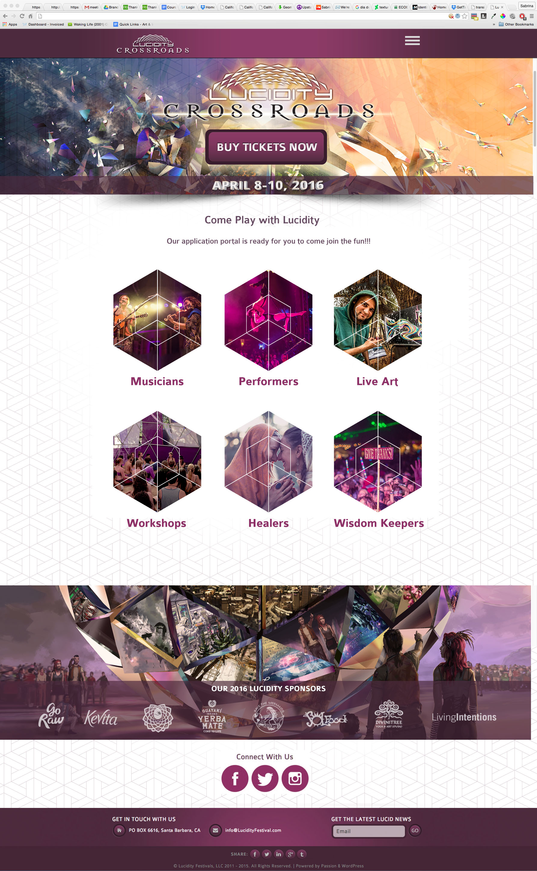 Web Design Portal Page