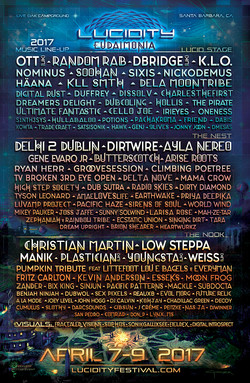 LF 2017 Line-up Poster
