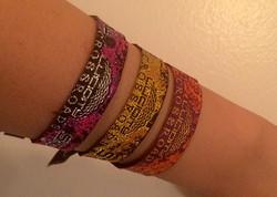 2016 Woven Wristbands