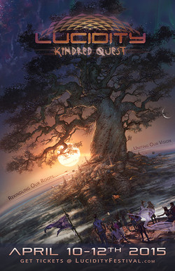 Lucidity Kindred Quest 2015 Poster