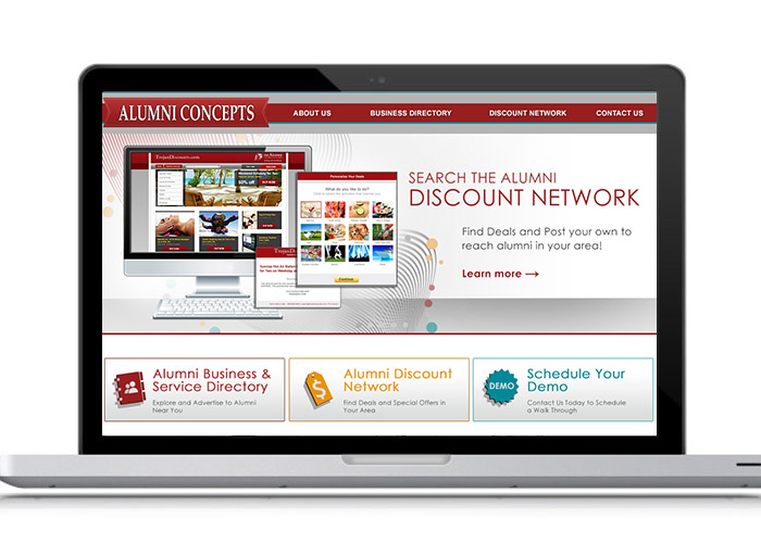 Alumni Concepts Website