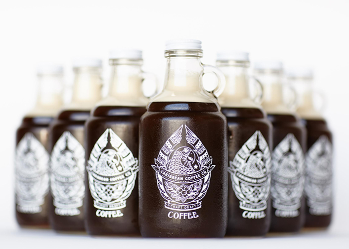 Caribbean Coffee Growlers