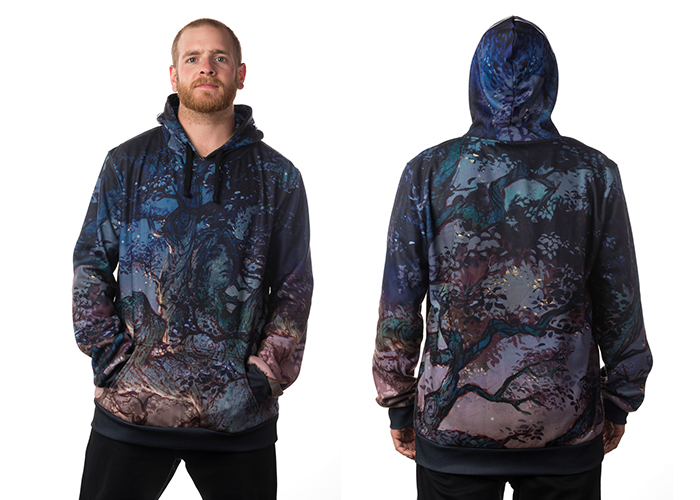 Tree Camo Dye-Sublimated Hoodie