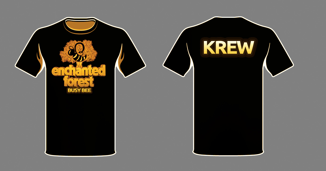 EFG Volunteer Shirt Concept