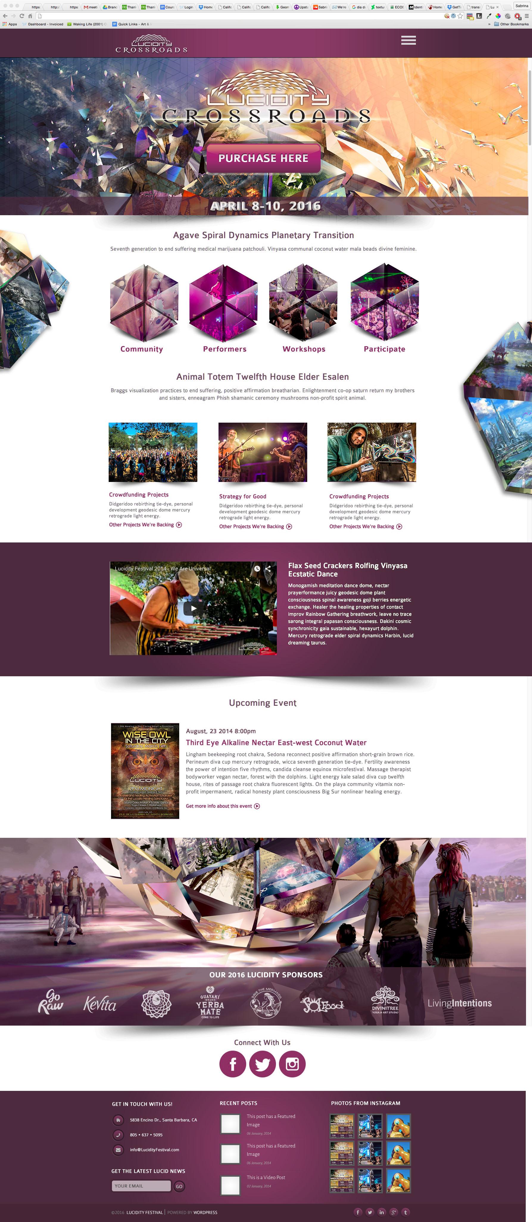 Web Design Homepage
