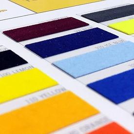 Tubitherm flock soorten kleuren