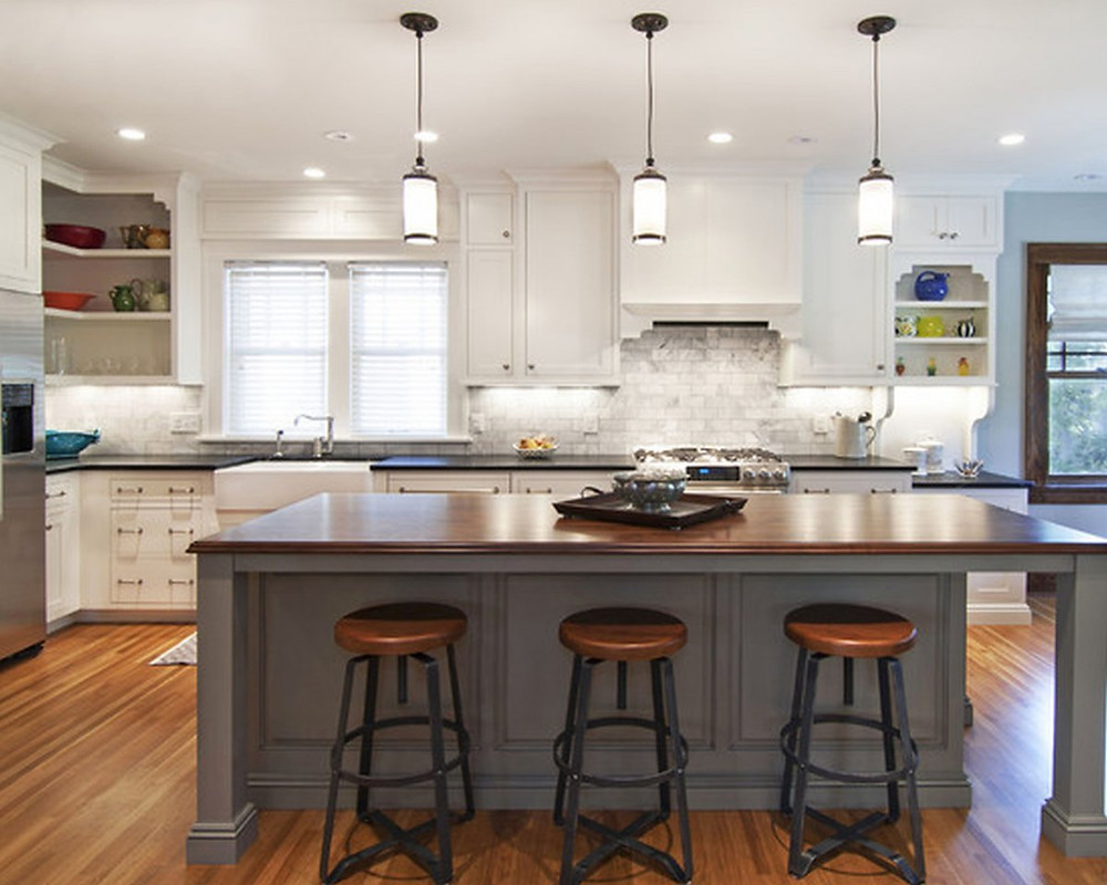 Kitchen with Good Lighting - Home Pros Remodel Group