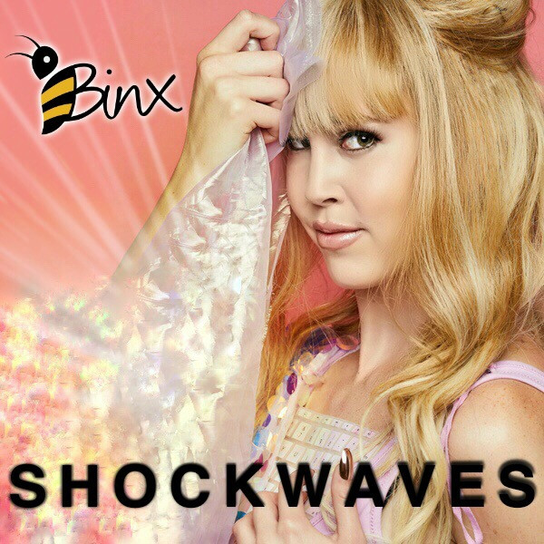 binx, shock waves, new music, the African bee, binxofficial