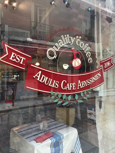 Paris'te Bir Etiyopya Kahvecisi; Adulis