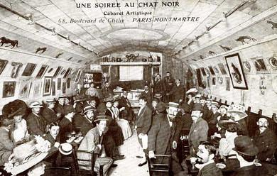 Paris'li Kara Kedi; Le C'hat Noir (1881)