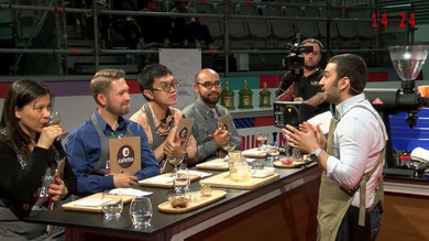 2016-2017  SCAE Türkiye Barista Şampiyonu Nisan AĞCA