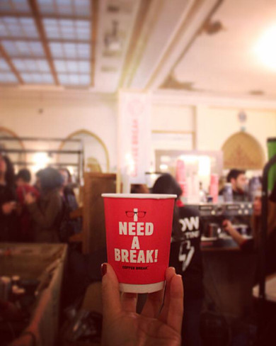 Take A 'Coffee Break'
