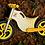 Thumbnail: BBike MX Amarela - Bicicleta sem pedal