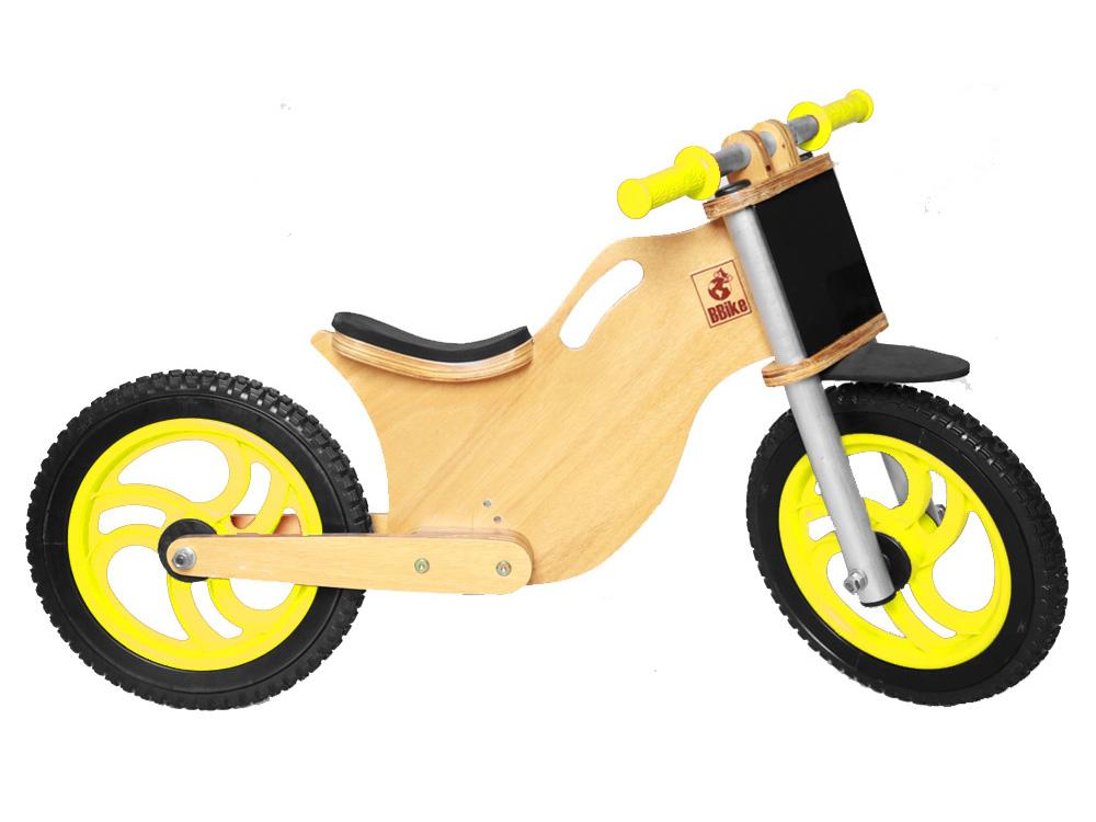Bicicleta sem pedal BBike MX Amarela 04 LD