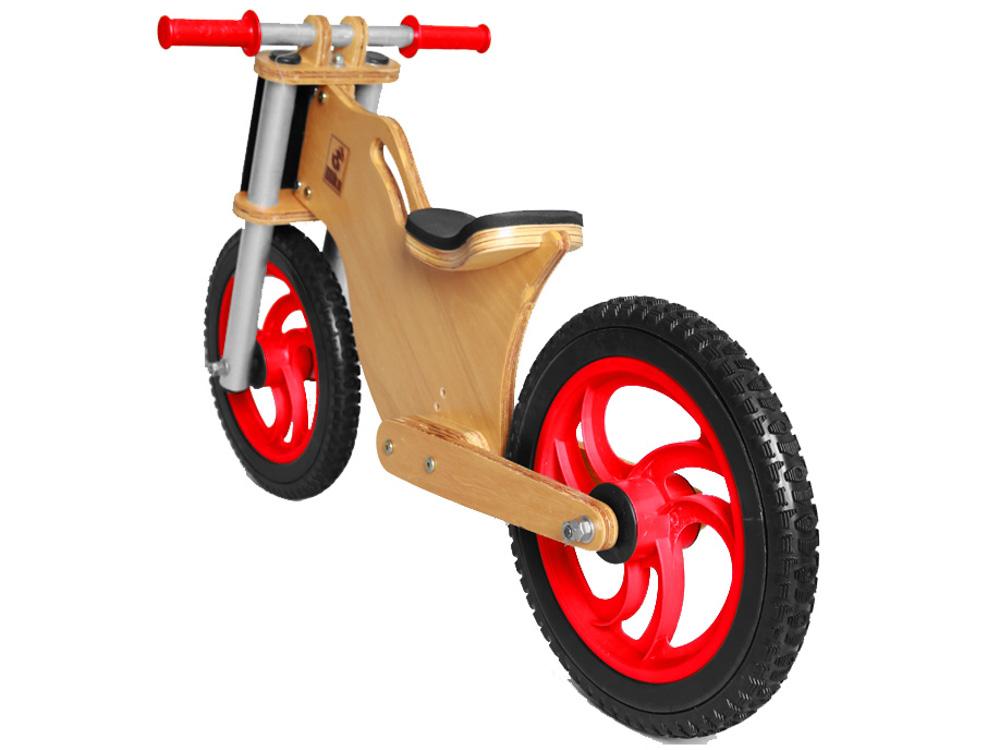 Bicicleta sem pedal BBike MX Vermelha