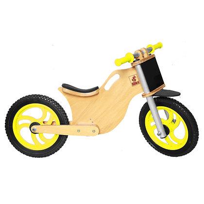 BBike MX Amarela - Bicicleta sem pedal