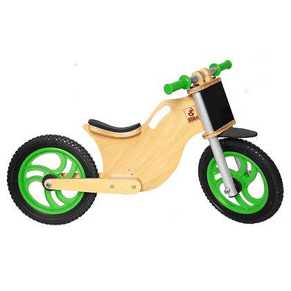 BBike MX Verde - Bicicleta sem pedal