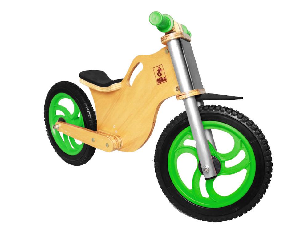 Bicicleta sem pedal BBike MX Verde 03