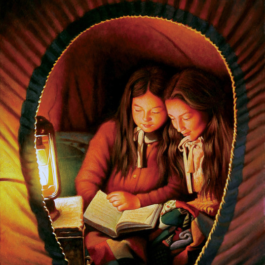 Bed Time Story on the Prairie